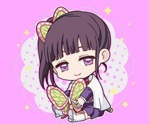 anime girl, chibi, and kimetsu no yaiba image