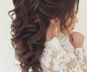 brown, long, and updo image