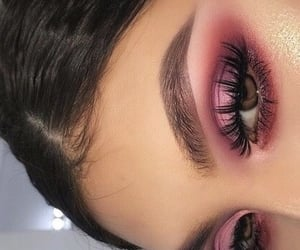 eye, lashes, and look image