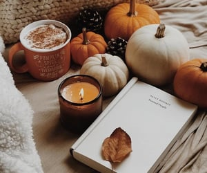 article, books, and candle image