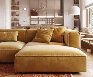 home, living room, and sofa image