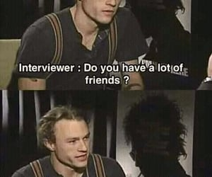 heath ledger, friends, and film image
