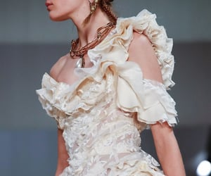 Alexander McQueen, beauty, and dress image