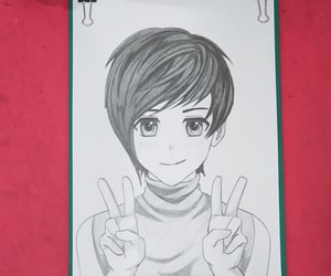 anime drawing easy, how to drawing anime, and anime drawing tutorial image
