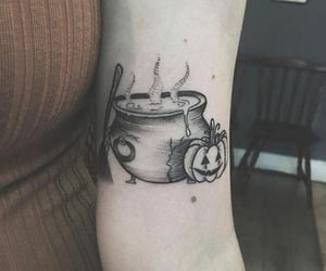 pumpkins, Tattoos, and Witches image