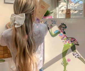 art, beauty, and blonde image