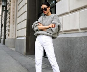 acne, pants, and sweater image