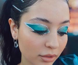 euphoria, makeup, and blue image