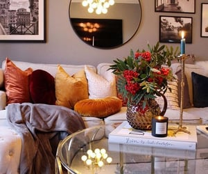 autumn, blanket, and candle image