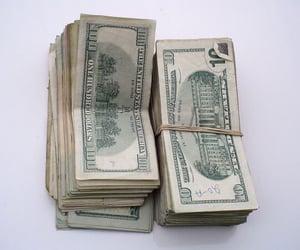 money, grunge, and dollar image