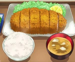 anime, japanese food, and cute image