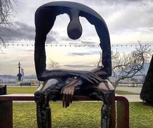 art, empty, and sculpture image