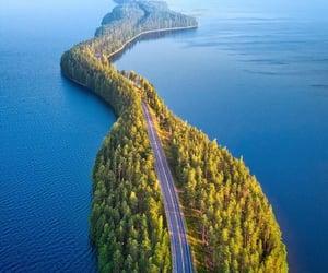 finland and nature bridge image