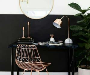 decoration, black, and interior image