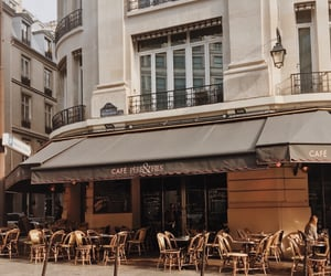 cafe, layout, and paris image