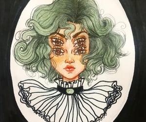 art, artsy, and color pencil image