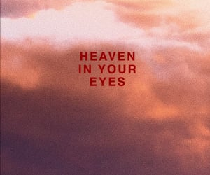girl, heaven, and red image