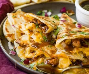 food and quesadillas image