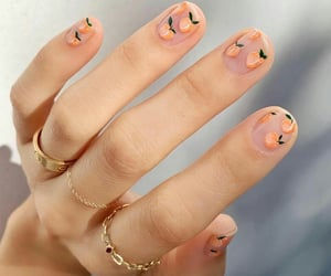 article, fall, and manicure image