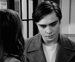 black and white, charles, and chuck bass image