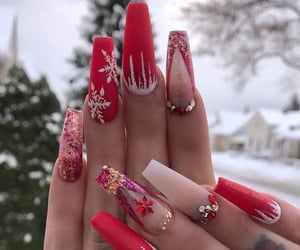 goals, nails, and red image