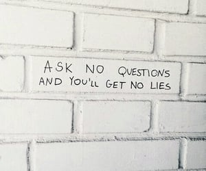 lies, quote, and questions image