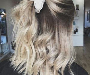 blonde, hair, and inspiration image