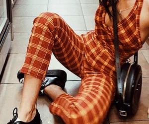 orange, outfit, and emma chamberlain image