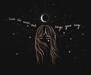 blonde, quote, and stars image
