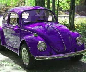 car, colours, and purple image