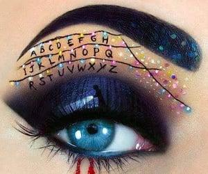 stranger things, makeup, and art image