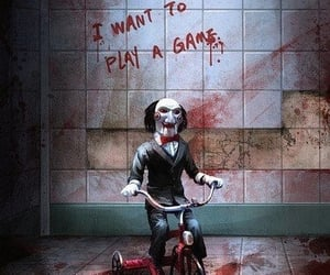 horror, saw, and movie image