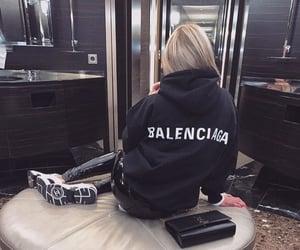 Balenciaga, stylish, and beauty image