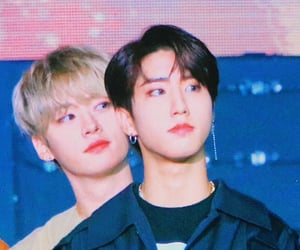 minsung and stray kids image