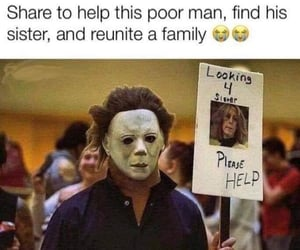 Halloween, michael myers, and laurie strode image