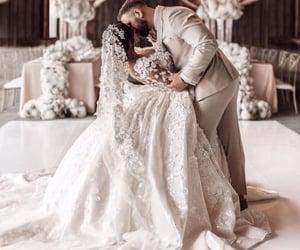 bride, glamour, and wedding image