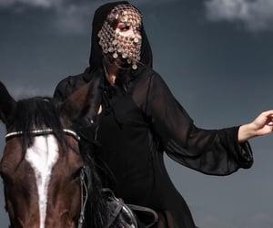 arabia, arabic, and blackdress image