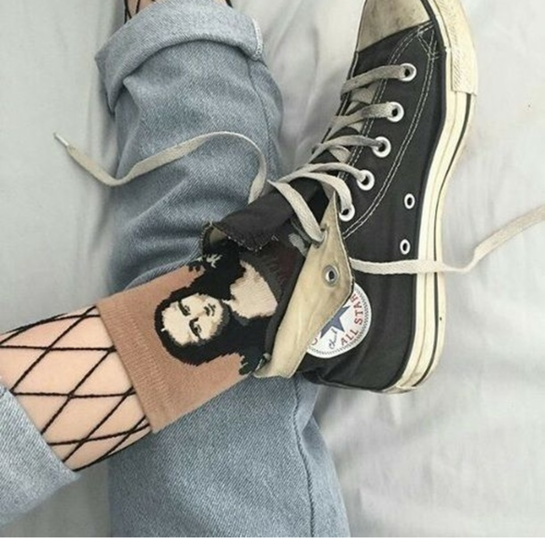 túnel Millas sobresalir  grunge outfit, tumblr and tumblr outfit on We Heart It