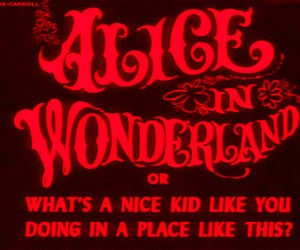 alice in wonderland, alice, and grunge image