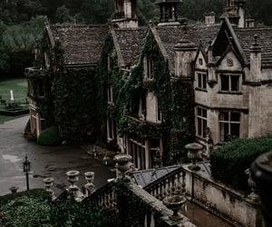 architecture, castle, and vintage image