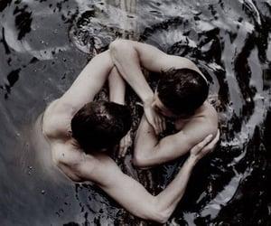 gay, lake, and romance image
