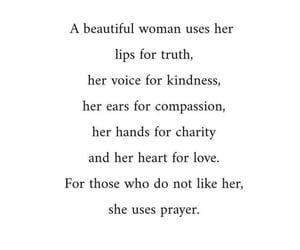 beautiful, beautiful woman, and compassion image