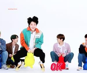 gif, kim wooseok, and han seungwoo image