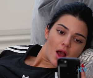 kim kardashian, reaction, and khloe kardashian image