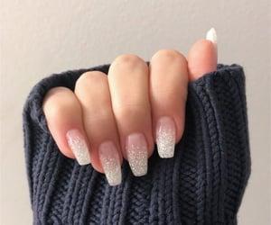 glitter, nail, and nail polish image