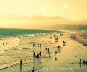 beach, people, and sand image