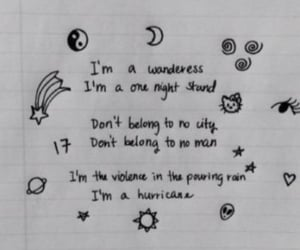 hurricane, halsey, and quotes image