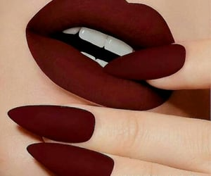 fashion, lips, and red image