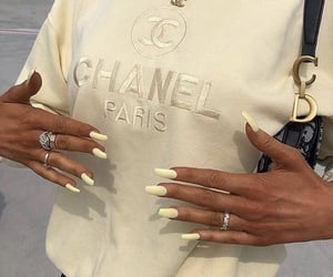 chanel, fashion, and nails image
