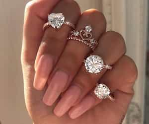 fashion, rings, and glitter image